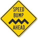 Speed Bumps Keep Out the Tourist